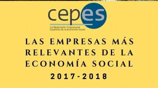 2018 'Relevant Enterprises of the Social Economy' ranking