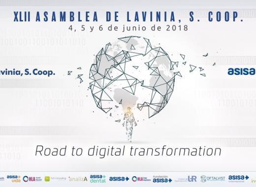 Cartel de la 42º Asamblea General de ASISA y Lavinia