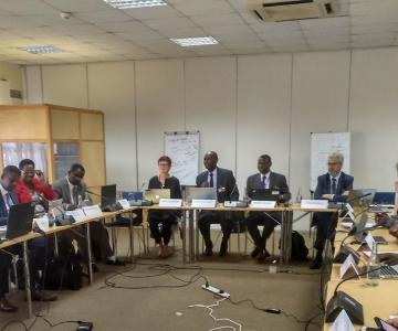The Director General of the Espriu Foundation and President of the International Health Co-operative Organisation (IHCO), Carlos Zarco, in the Expert Group Meeting organised by The UN's
