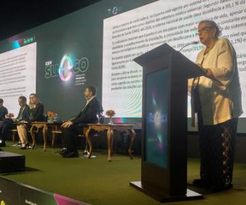 La presidenta de la Fundación Espriu participa en el XXIV SUECO