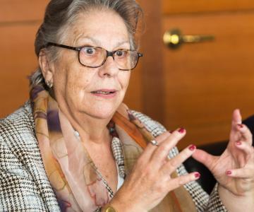 Teresa Basurte, presidenta de la Fundación Espriu
